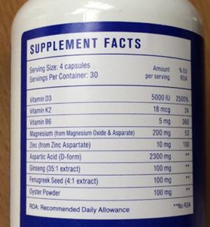 testofuel usa ingredients