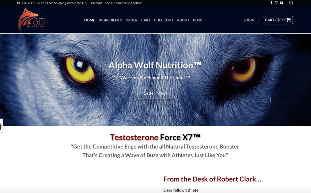 alpha wolf force x7 official website